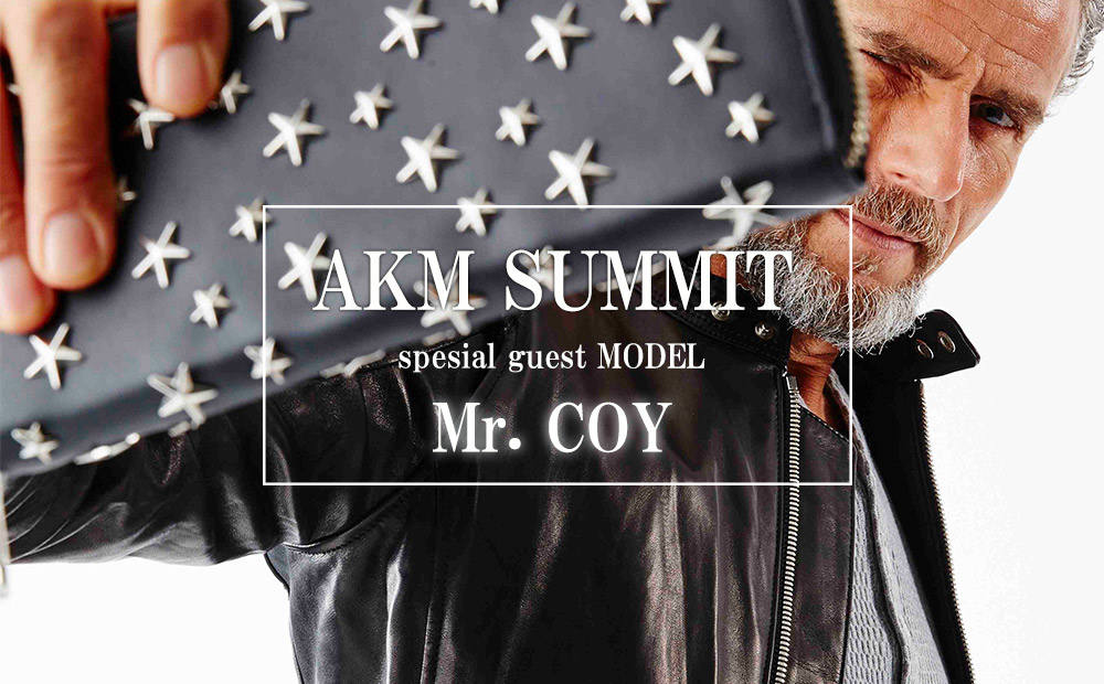 SPECIAL GUEST MODEL 《Mr.COY》