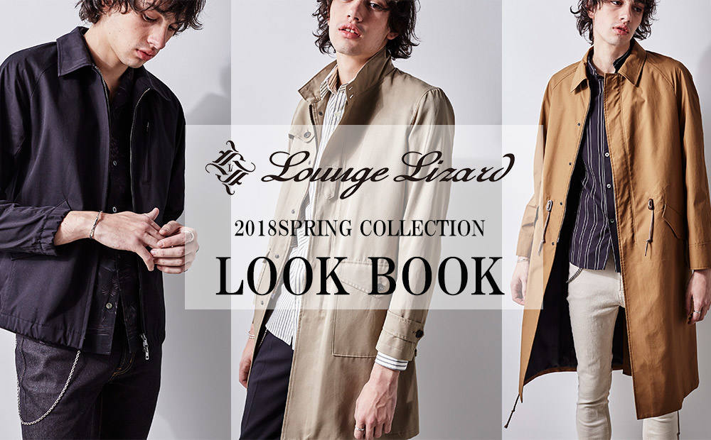 2018SPRING COLLECTION LOOK BOOK