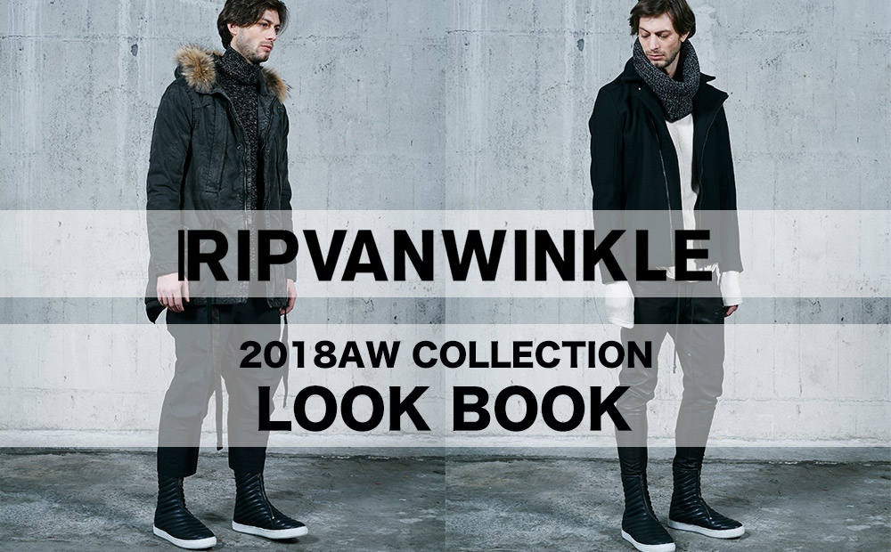 2018AW COLLECTION LOOK BOOK