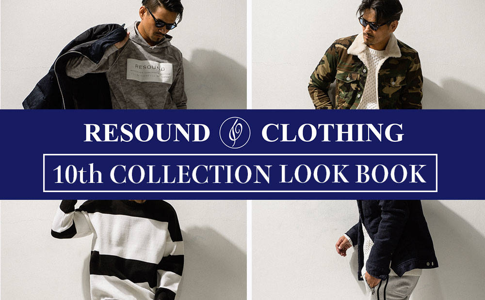 10th COLLECTION LOOK BOOK