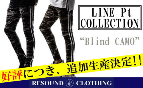 【RESOUND CLOTHING】Blind LINE PT 追加生産決定!!