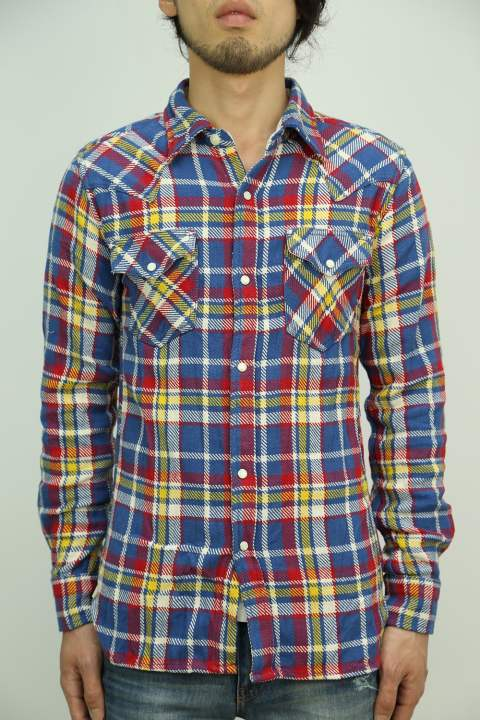 FIVE BROTHER india wrinkle check western