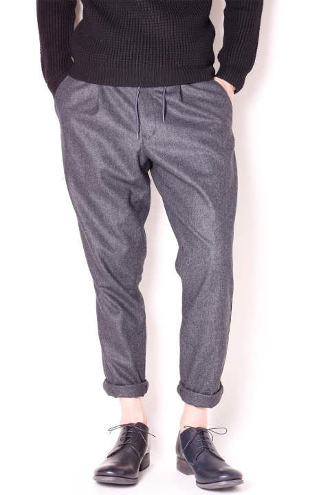 【10月入荷予定】easy tuck pants