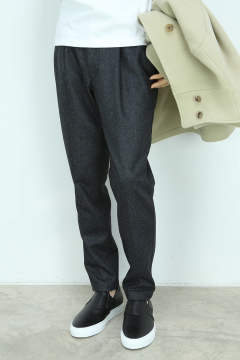 [ラスト1点] easy tuck pants