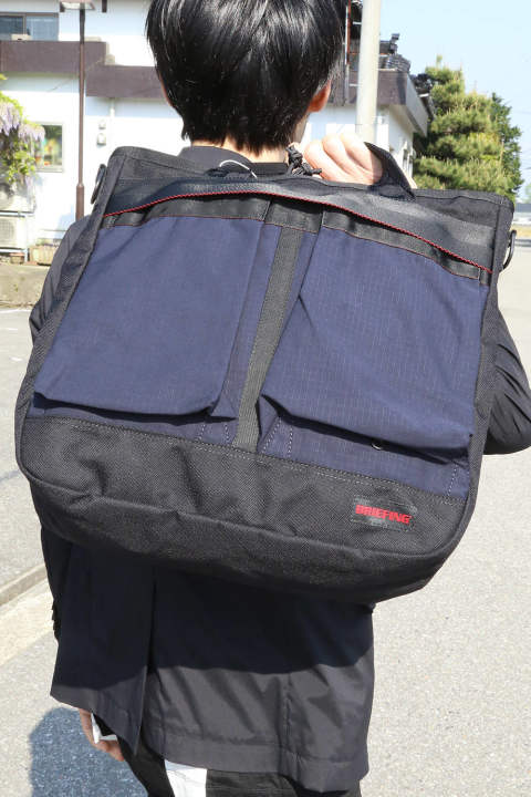 【JH×BRIEFING】NEW HELMET LUGGAGE