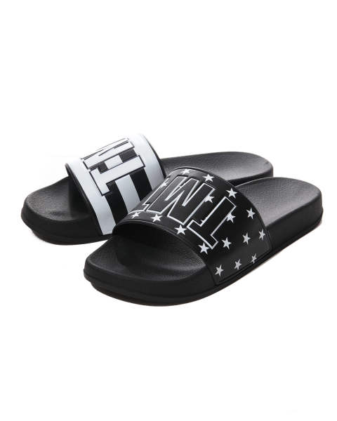 SHOWER SANDALS(U.S.FLAG) / ブラック