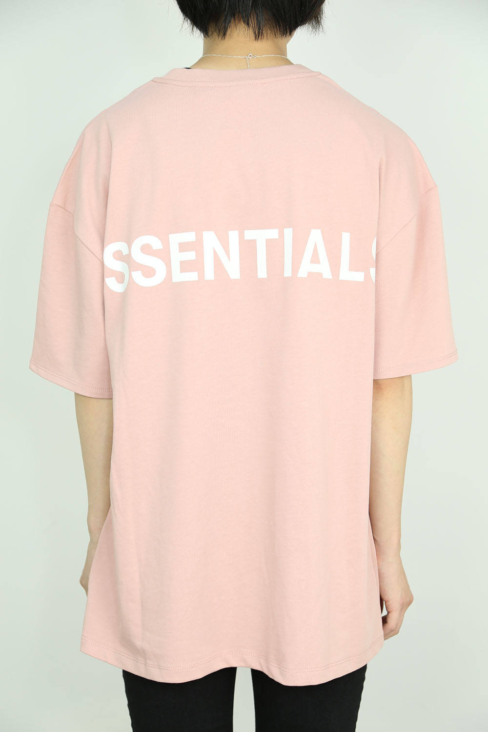 REFLECTOR LOGO S/S TEE / ピンク