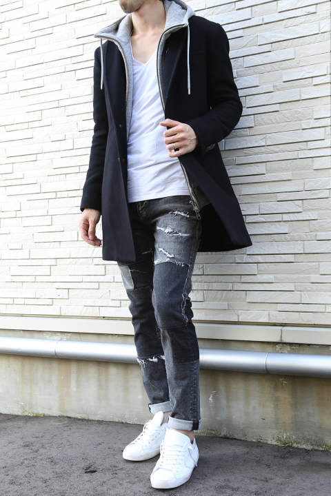 casual coat style